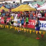 Canadians Joan & Andrea  finishing their 1st comrades